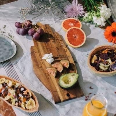Planche à fromage Main Tarot DOIY - Maison James Close à Antibes