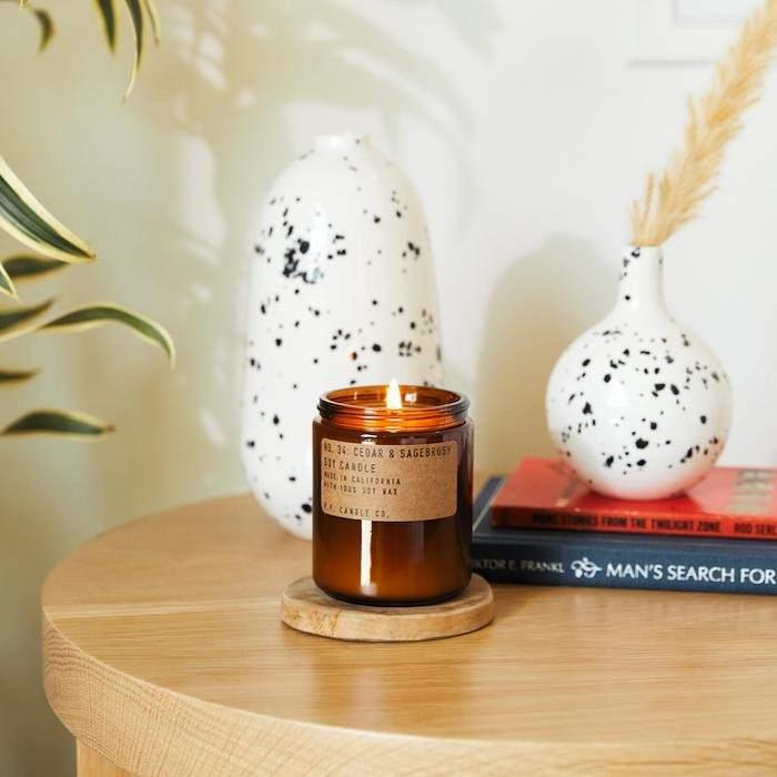 Bougie Cedar & Sagebrush - PF Candle PF Candle - Maison James Close à Antibes