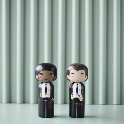 Kokeshi doll Jules Winnfield / Pulp Fiction