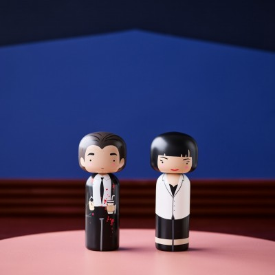 Kokeshi Doll Mia Wallace / Pulp Fiction