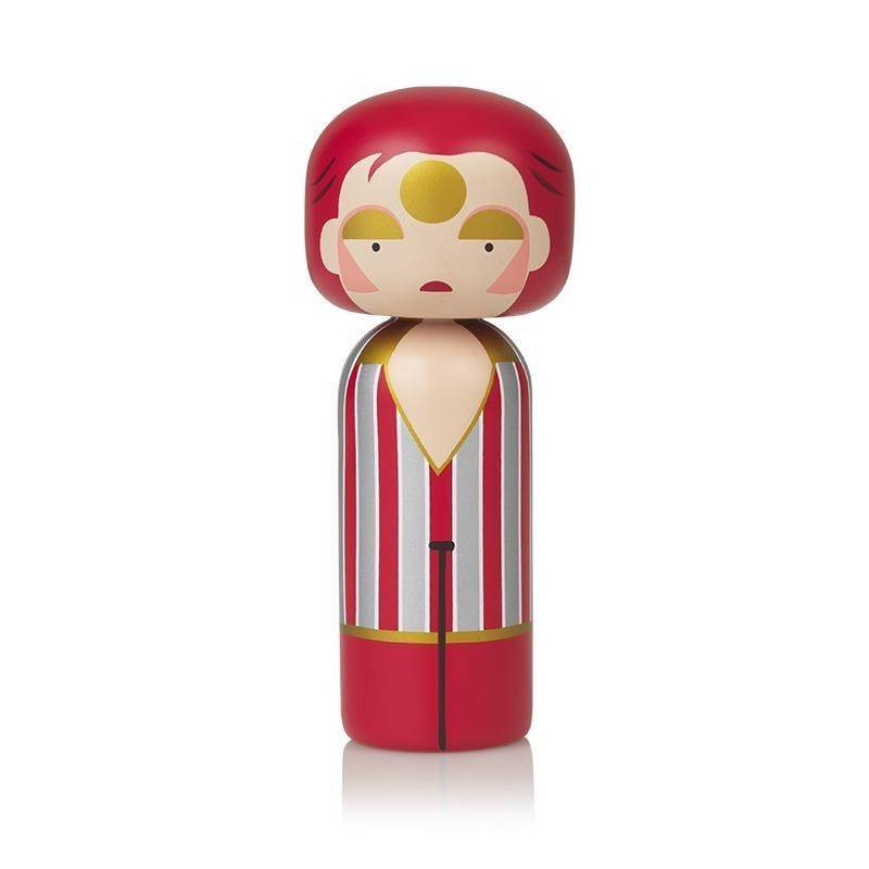 Kokeshi Doll Ziggy Stardust