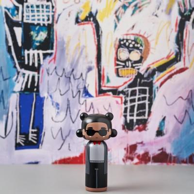 Kokeshi Doll Jean-Michel Basquiat