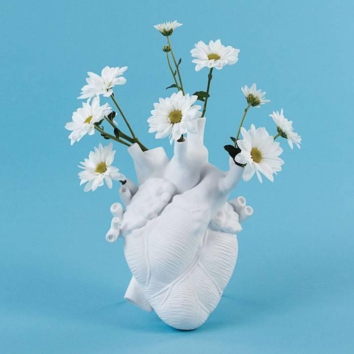 Vase Coeur Love in Bloom