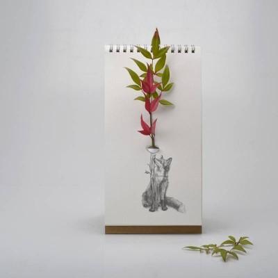 Vase Carnet Flip Wild