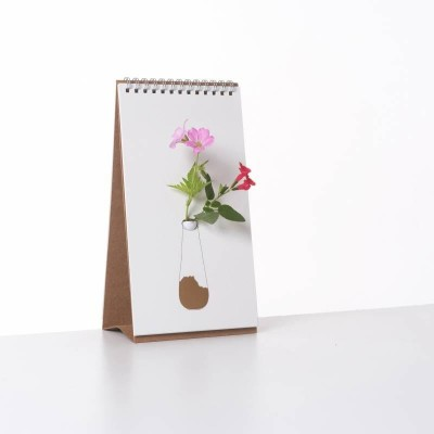 Vase Carnet Flip / Vase