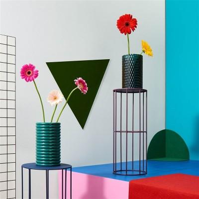 Vase en Verre Dark Green 70