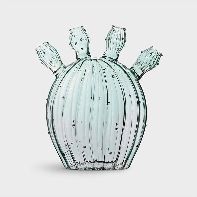 Vase Cactus en Verre