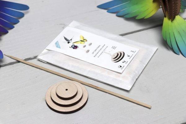 Display en Bois pour Oiseaux et Insectes à Assembler