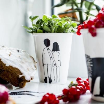 Mug Naked Couple Back