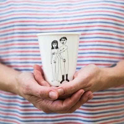 Mug Naked Couple