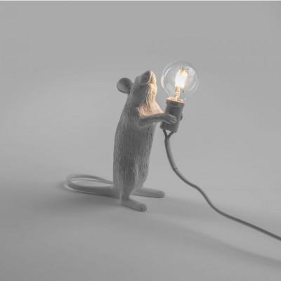 Mouse Lamp Debout Blanche
