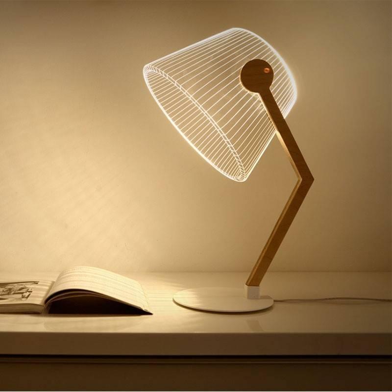 Lampe effet 3D Ziggi