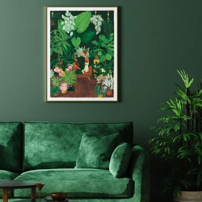 Plant Addict Lady