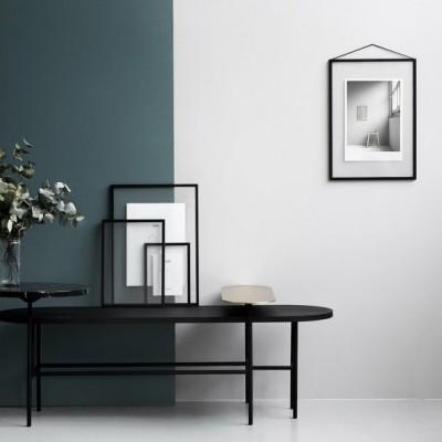 Cadre Photo A4 en metal noir
