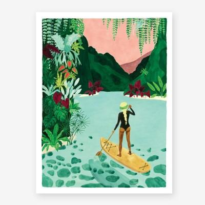 Paddle Girl