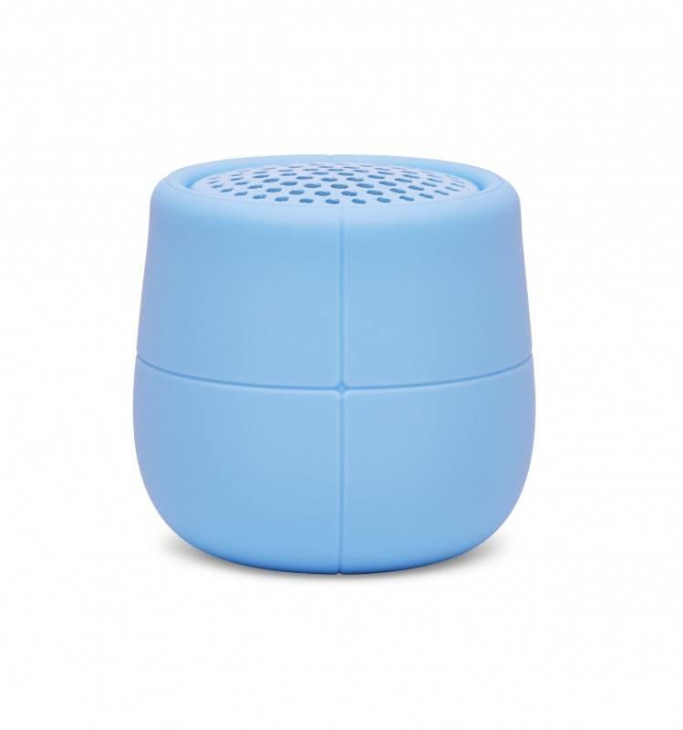 Mini enceinte étanche et flottante MINO X bleue