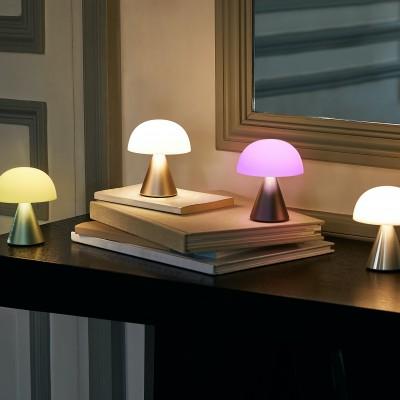 Mini lampe LED sans fil Gris foncé