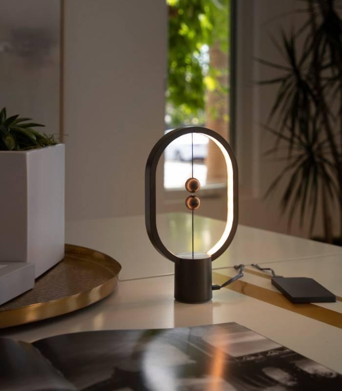 Lampe Mini Heng Balance gris